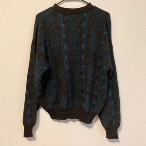 Vintage 90's Style Grandpa Pullover Sweater